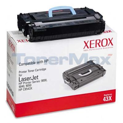 XEROX HP LJ 9000 9050 TONER CTG BLACK C8543X 